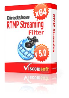 Directshow RTMP Streaming Filter x64