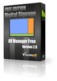 Free Digital Signage Software - AV Manager Free